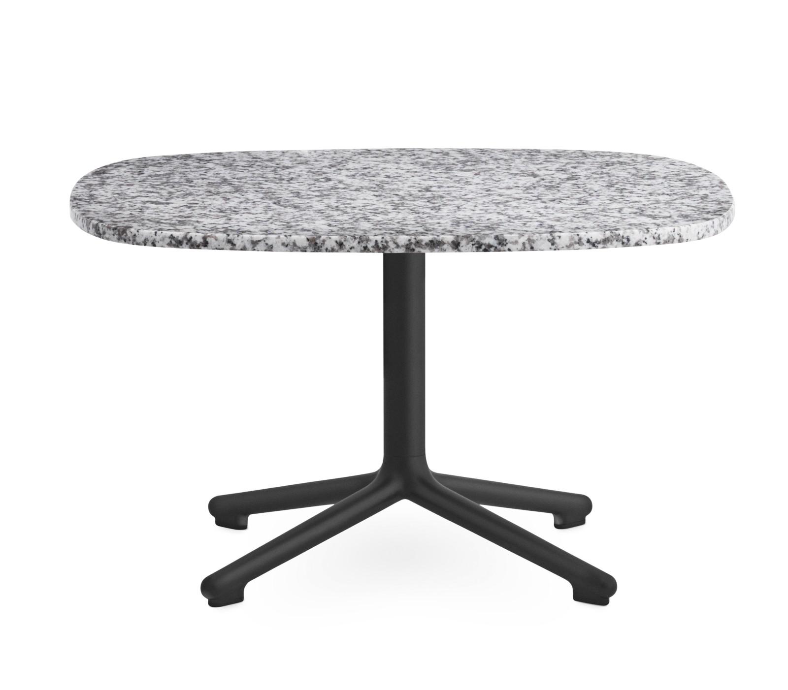 Era Side Table Grey, 67.5 x 66