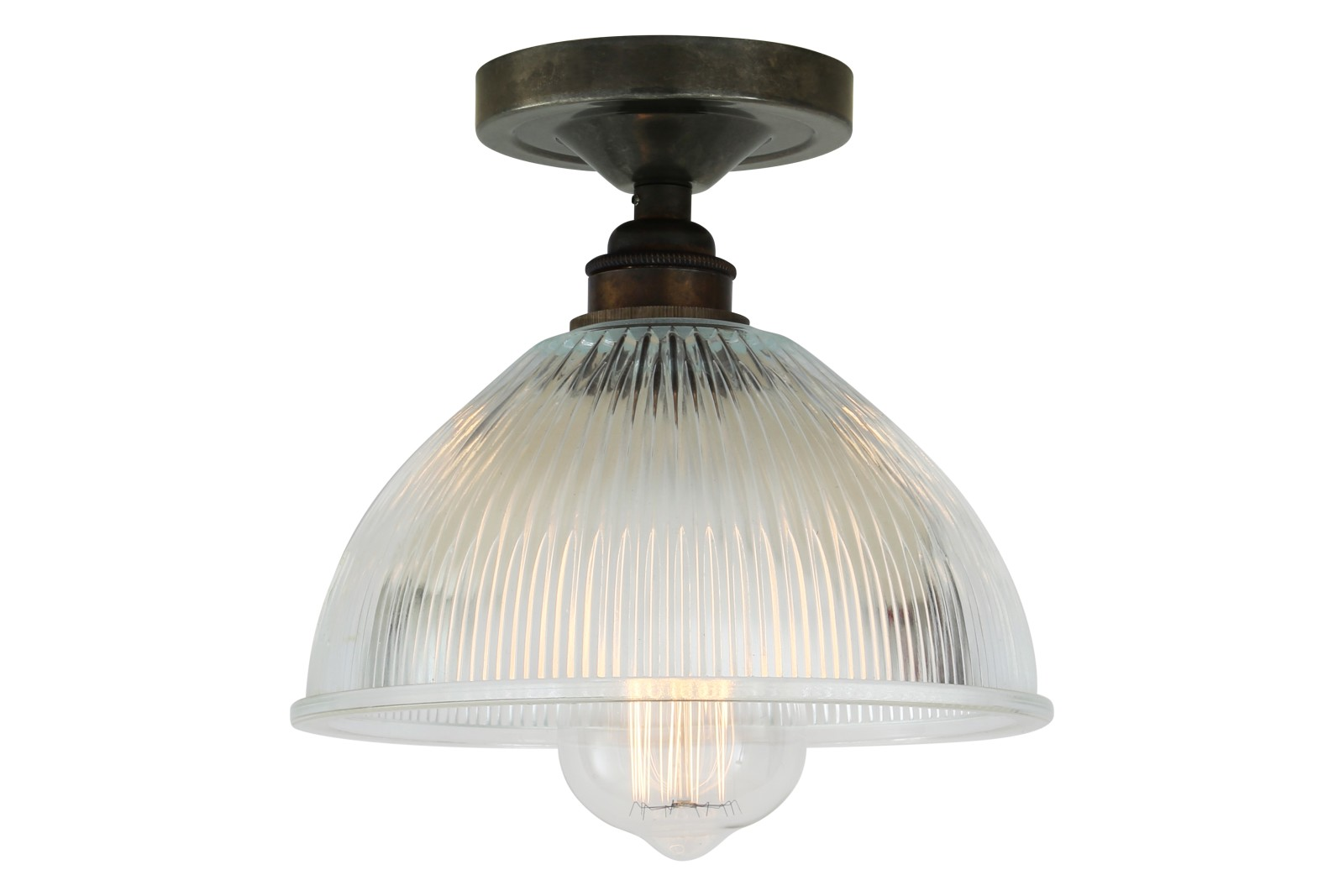 Erbil Ceiling Light Antique Silver