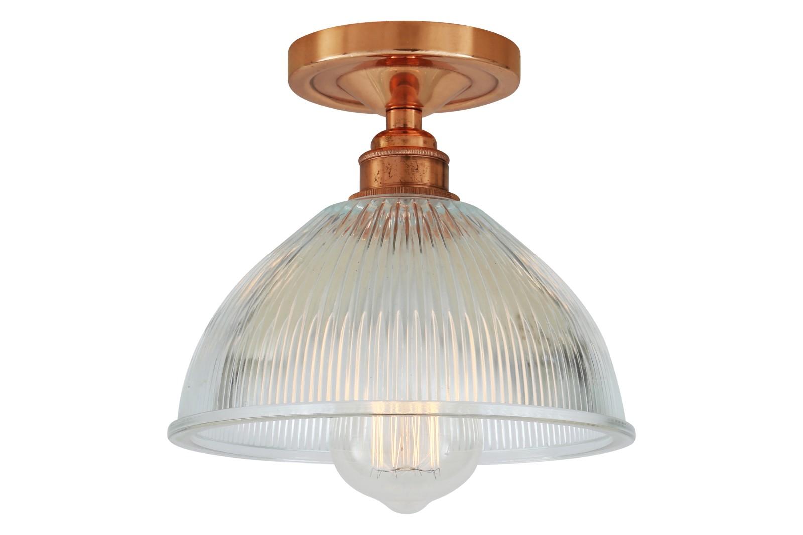 Erbil Ceiling Light Polished Copper