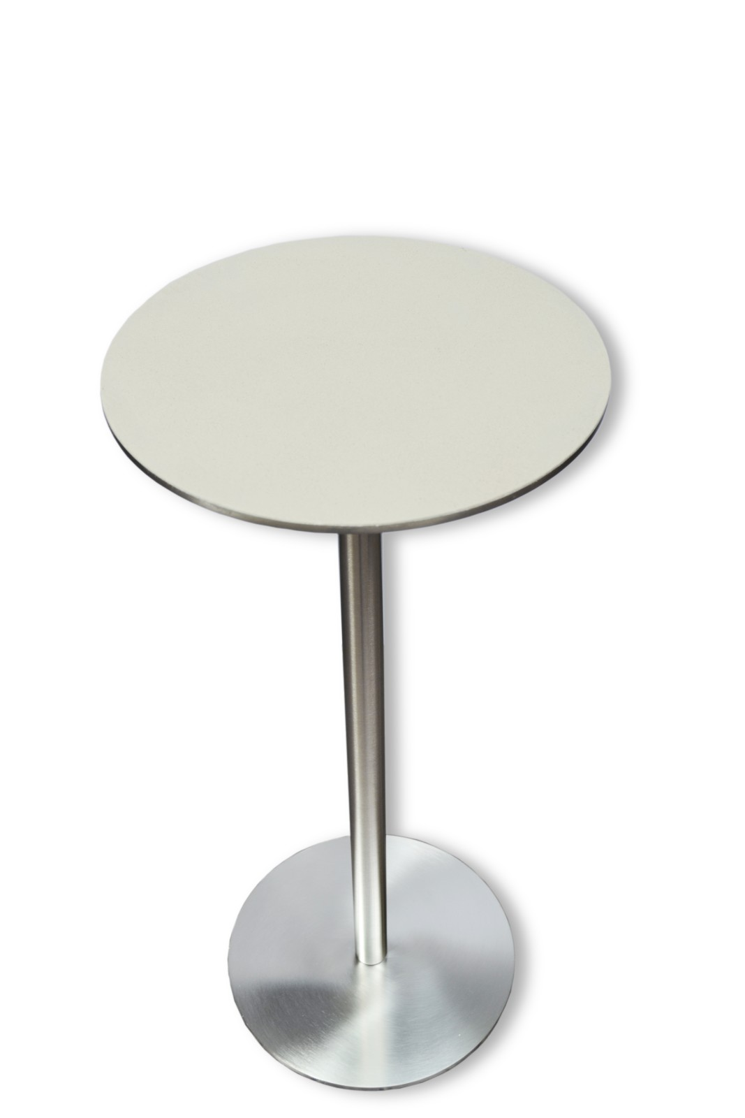 Ester Side Table Stainless Steel, Clay Top, High