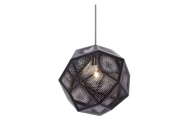 Etch Pendant Light Black