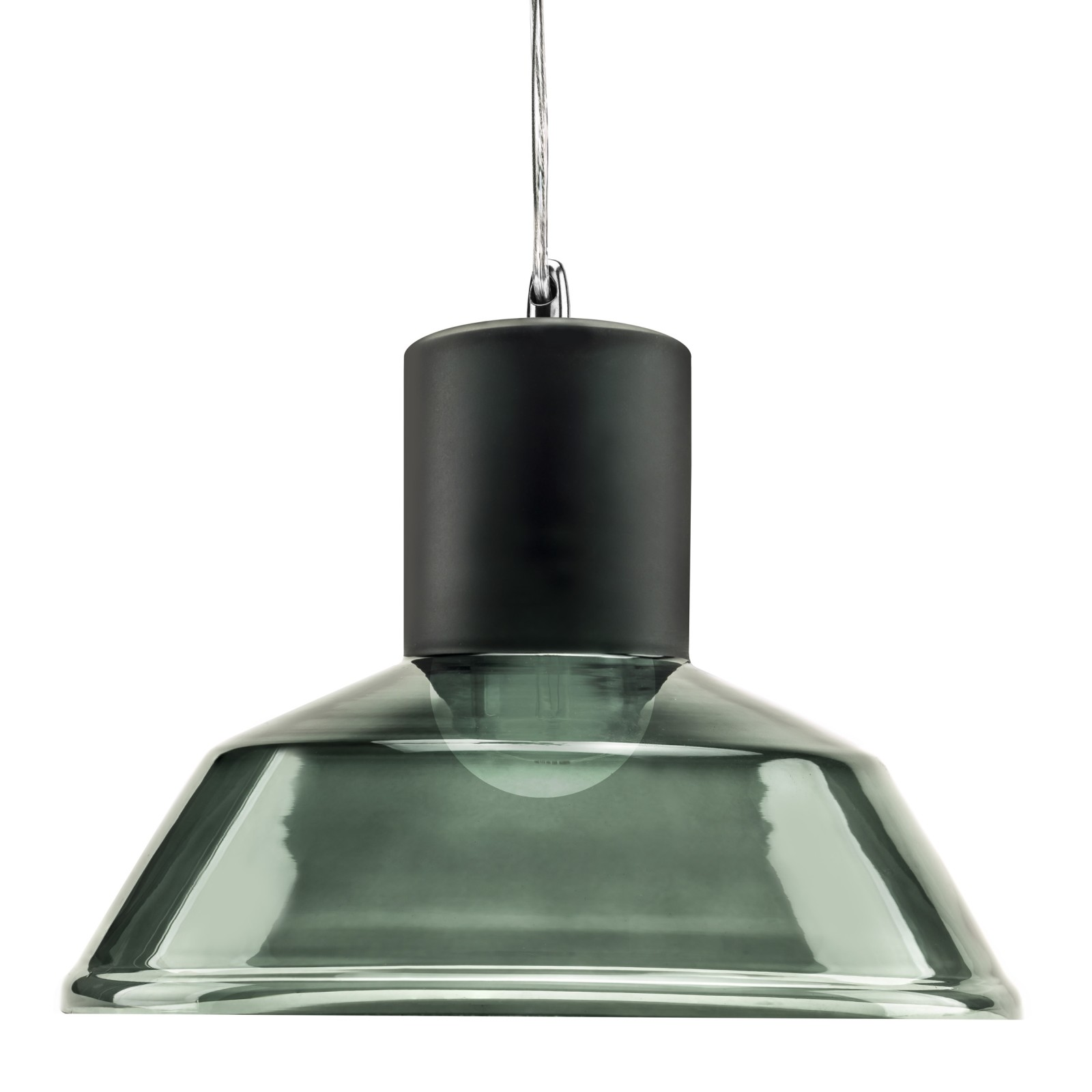Factory Pendant Lamp Grey Blue Tint Factory Pendant Lamp