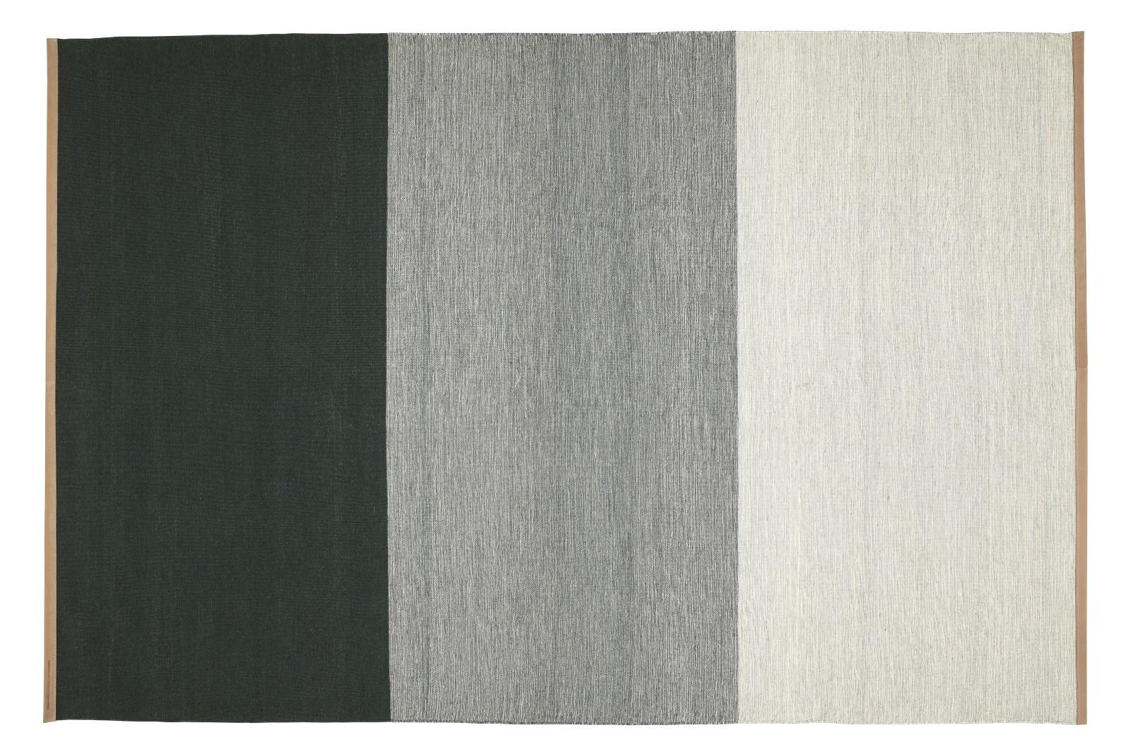 Fields Rug Green / Grey