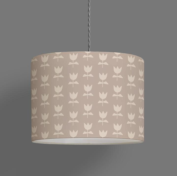 Flora Lampshade Pewter (Ceiling)