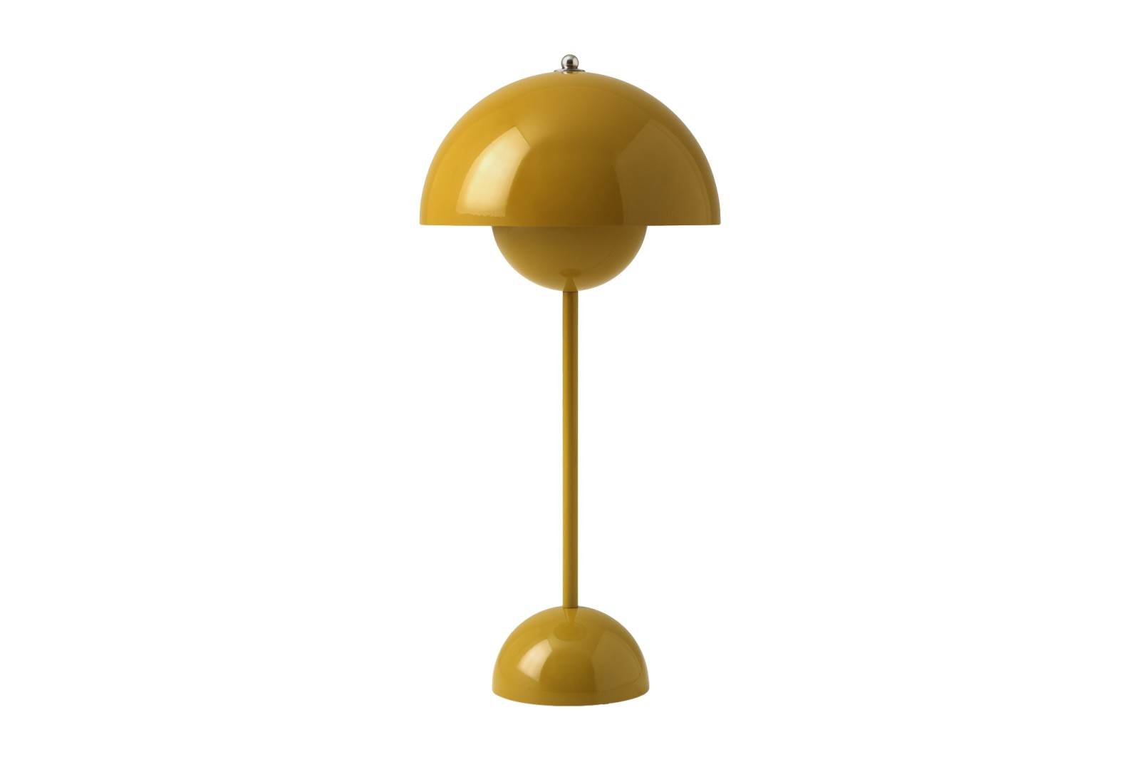 Flowerpot VP3 Table Lamp Mustard