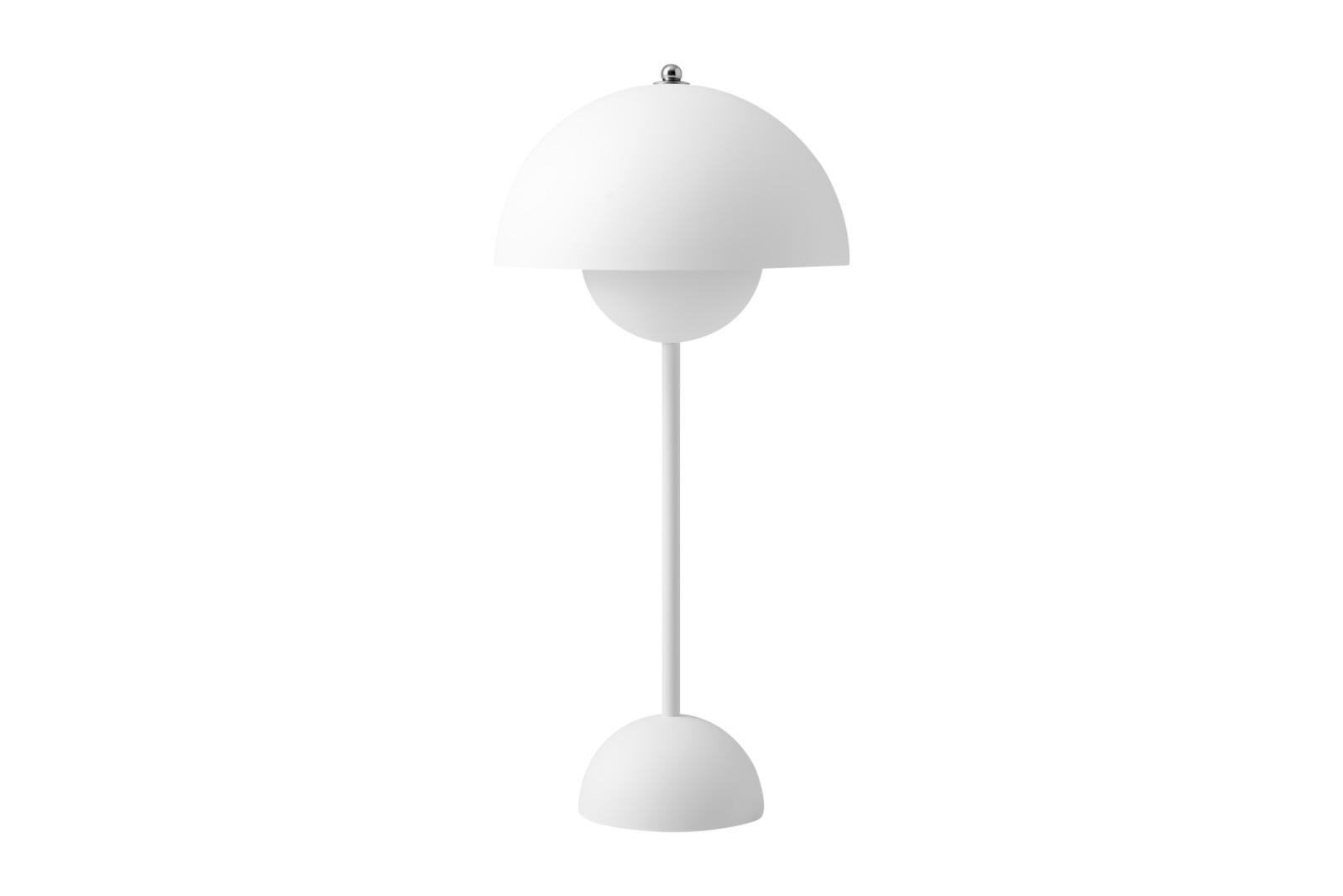 Flowerpot VP3 Table Lamp White
