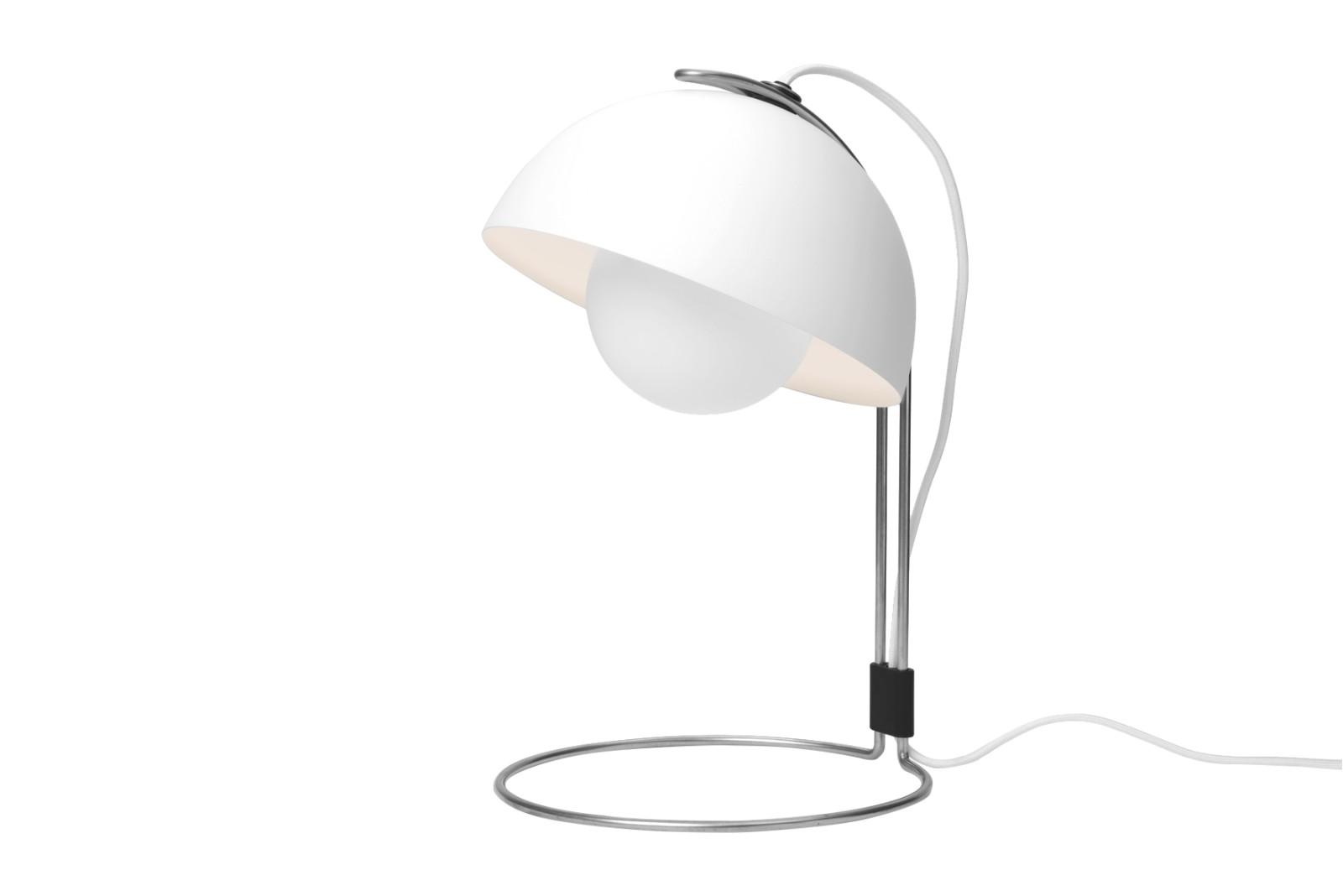 Flowerpot VP4 Table Lamp Matt White