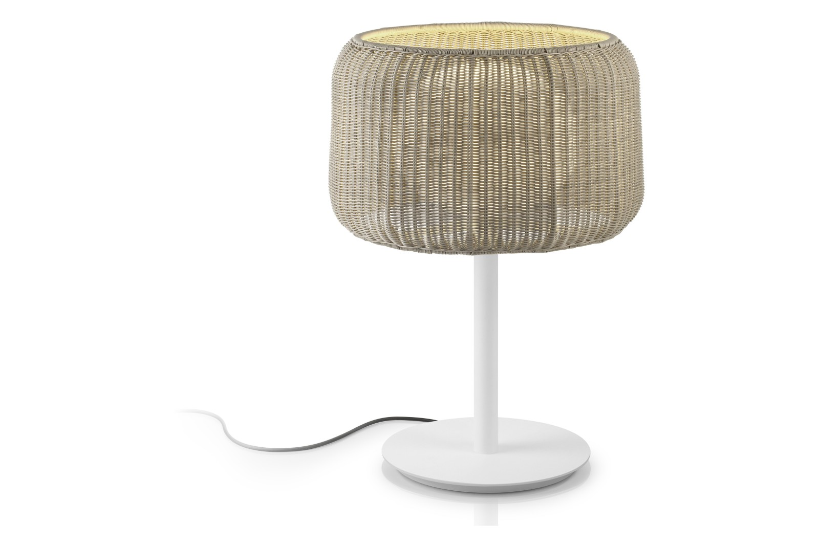 Fora M Table Lamp Light Beige, Natural White
