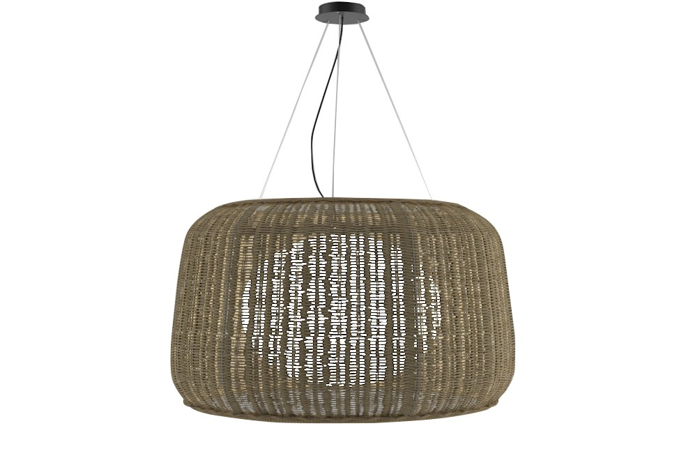 Fora Pendant Light Brown, Graphite Brown