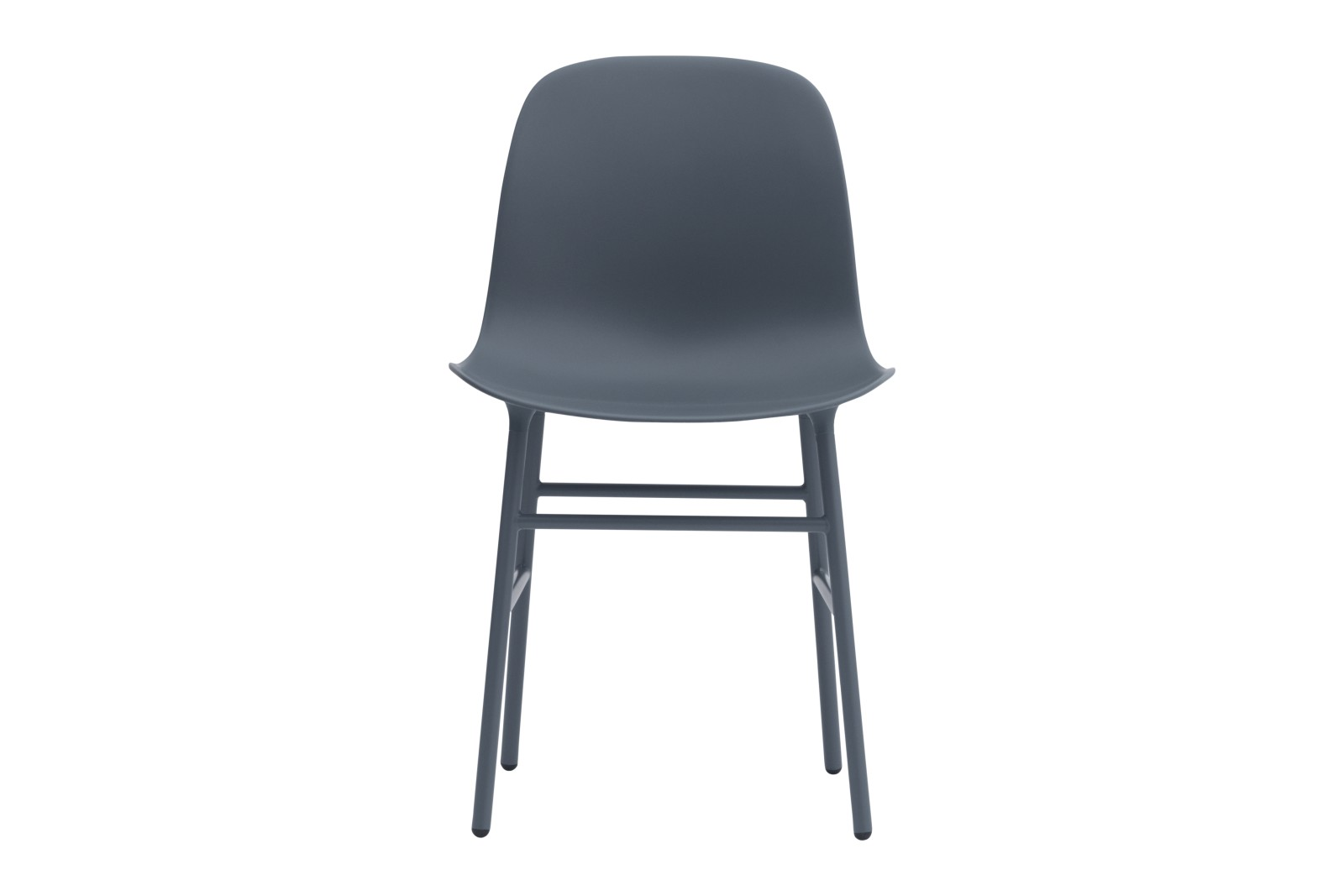 Form Dining Chair NC Lacquered Steel, Blue