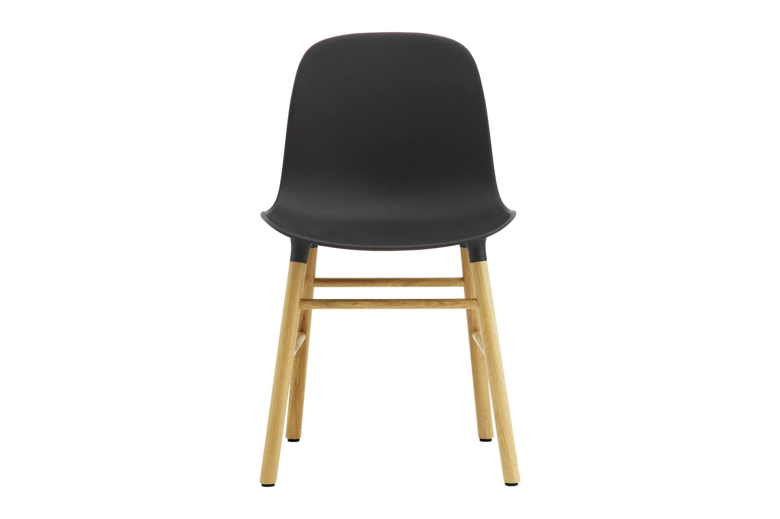 Form Dining Chair NC Oak, Black