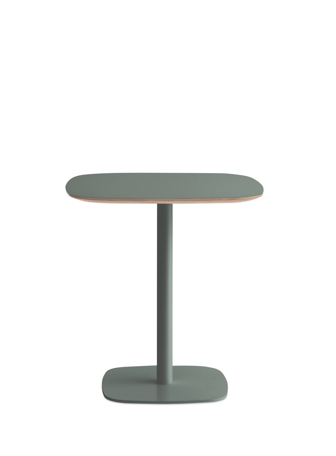 Form High Cafe Table Green, Small