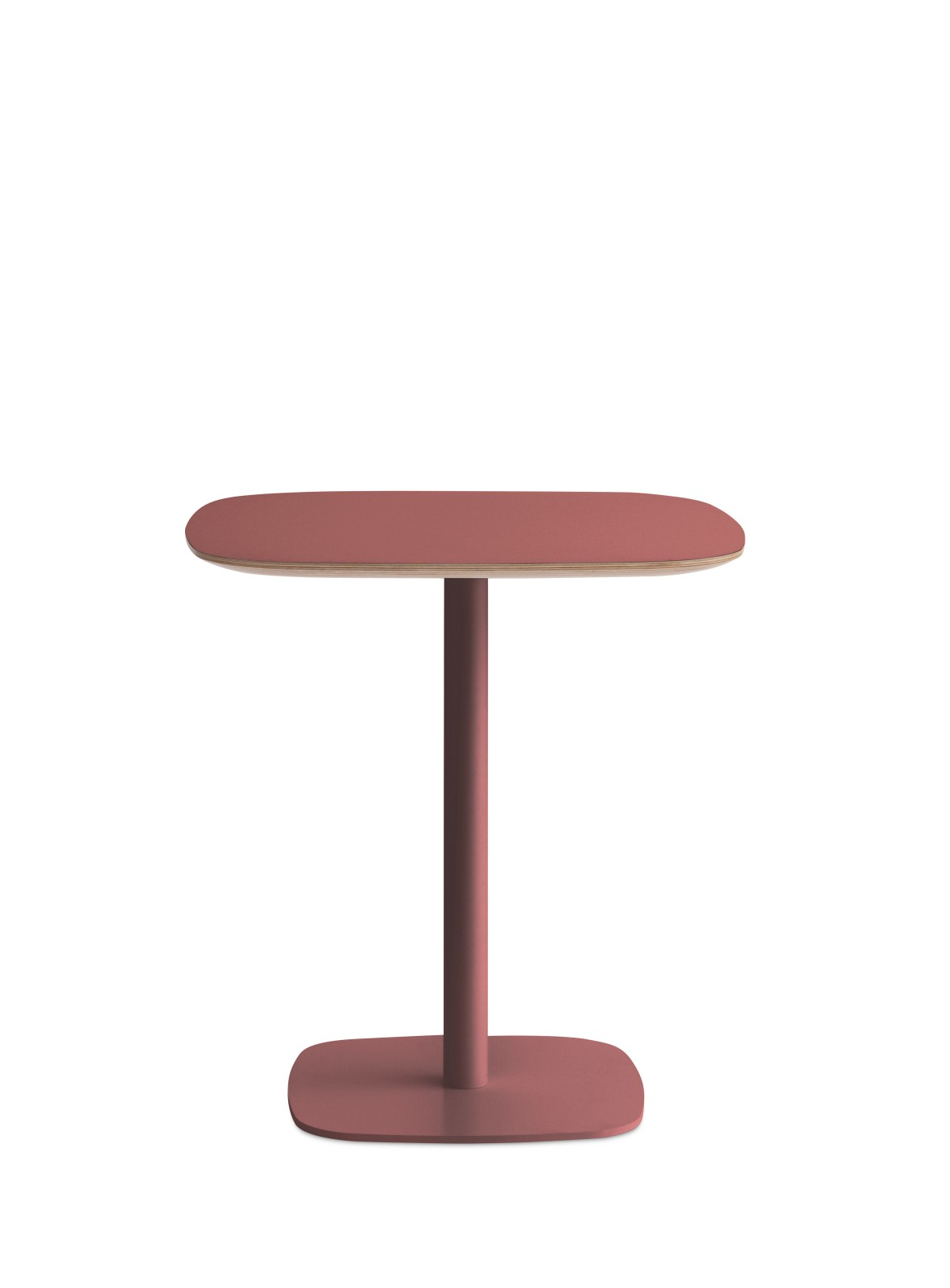 Form High Cafe Table Red, Small