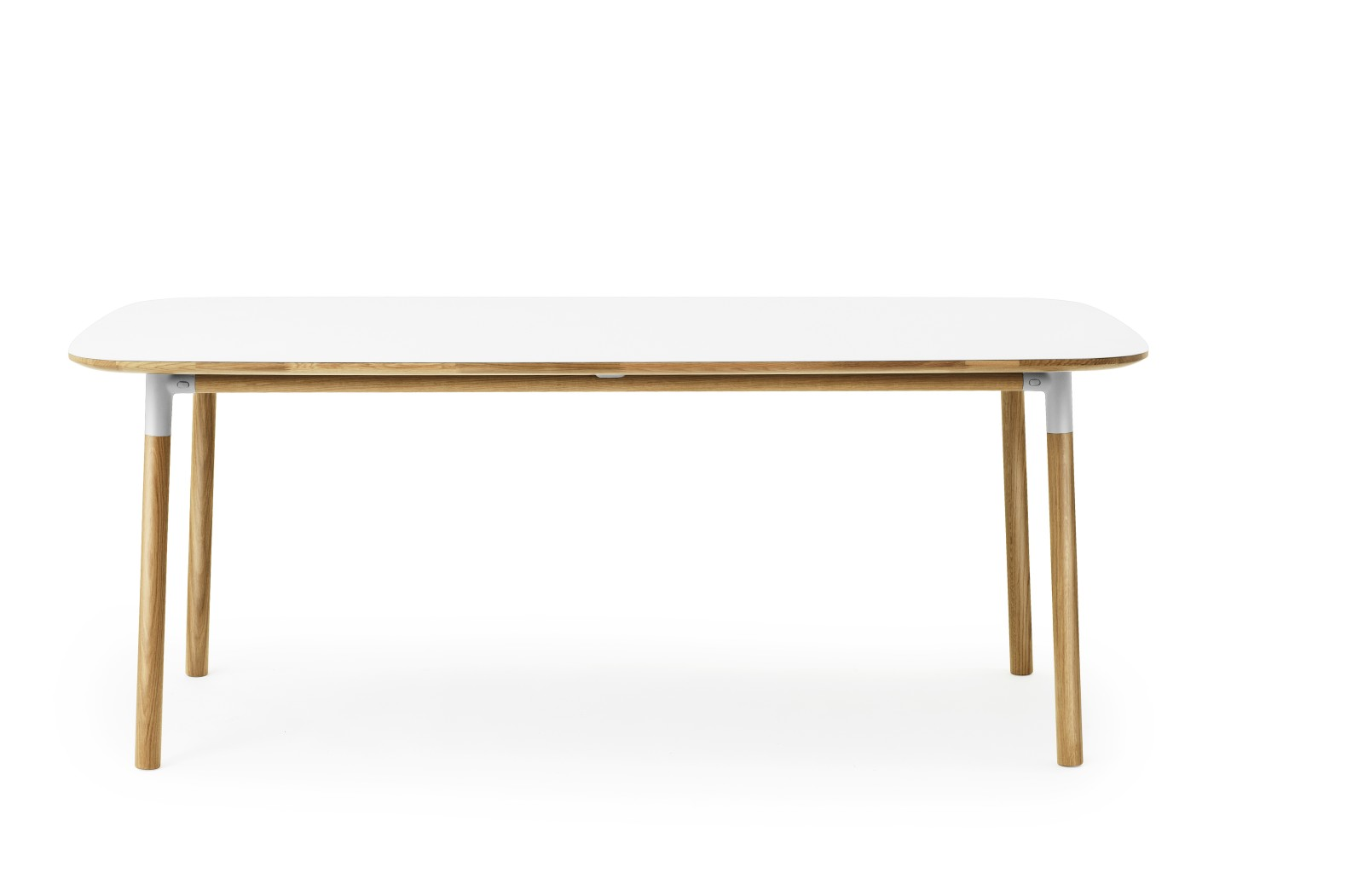 Form Dining Table - Rectangle White
