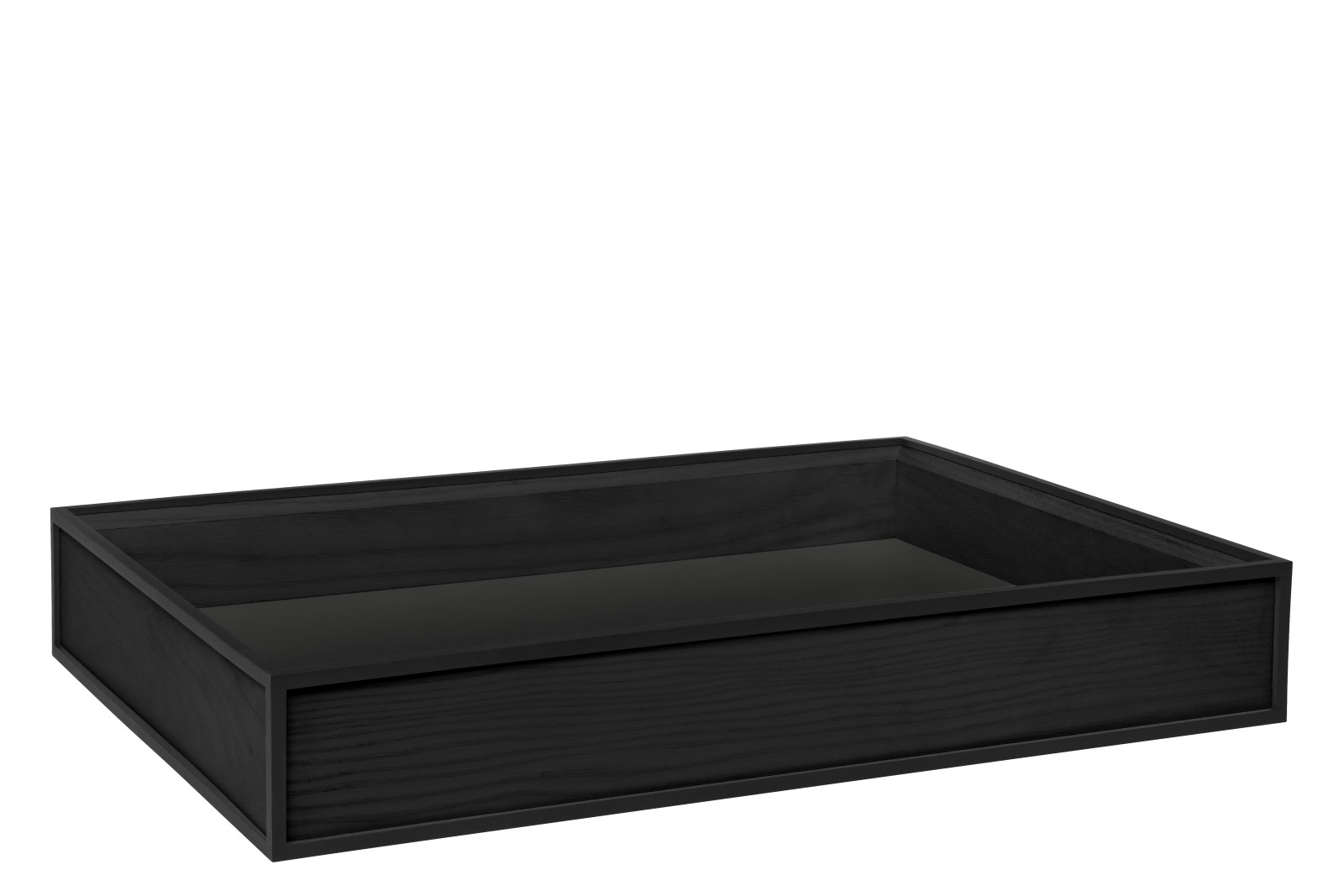 Frame Tray - Set of 2 Black Stained Ash