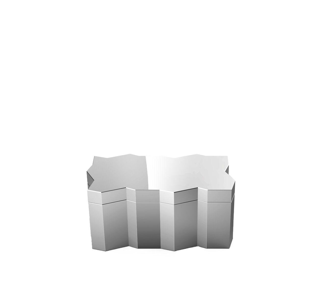 Frammenti Aluminum Box 3 Mirror