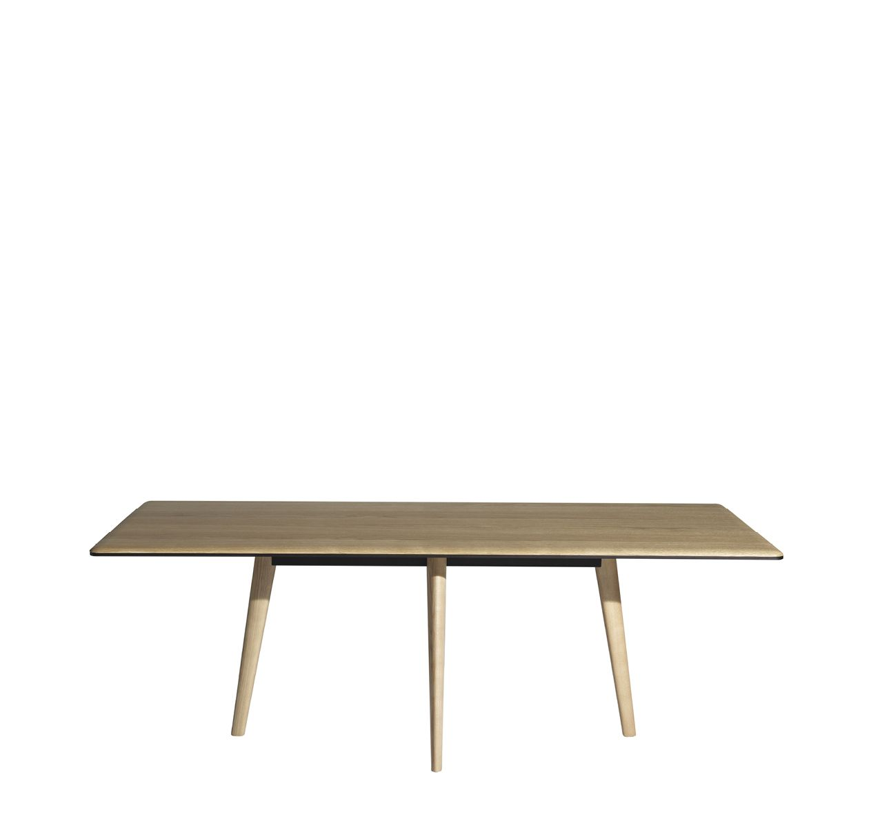 Francois Dining Table - Wood top Natural oak/ Legs in ash with natural oak finish, 210