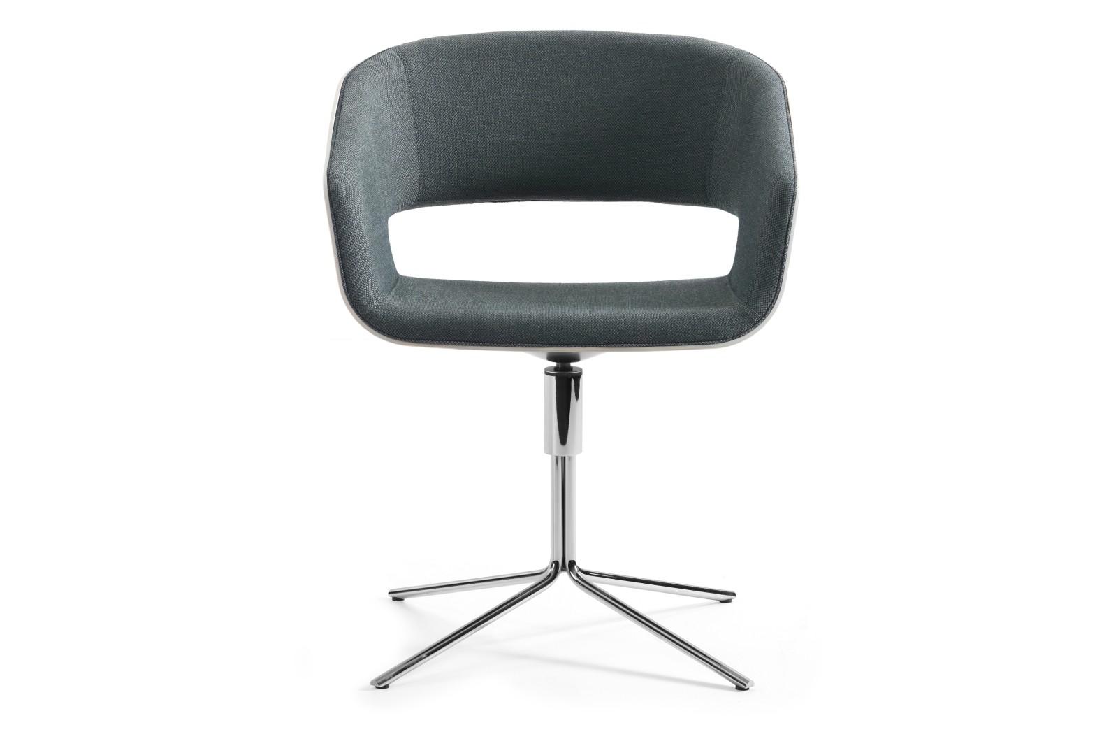Gap-07-46 Chair Swivel Base Pricegrp. PG4, Chrome, White