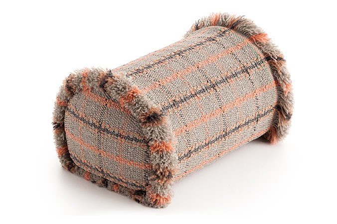 Garden Layers Big Roll Tartan terracotta