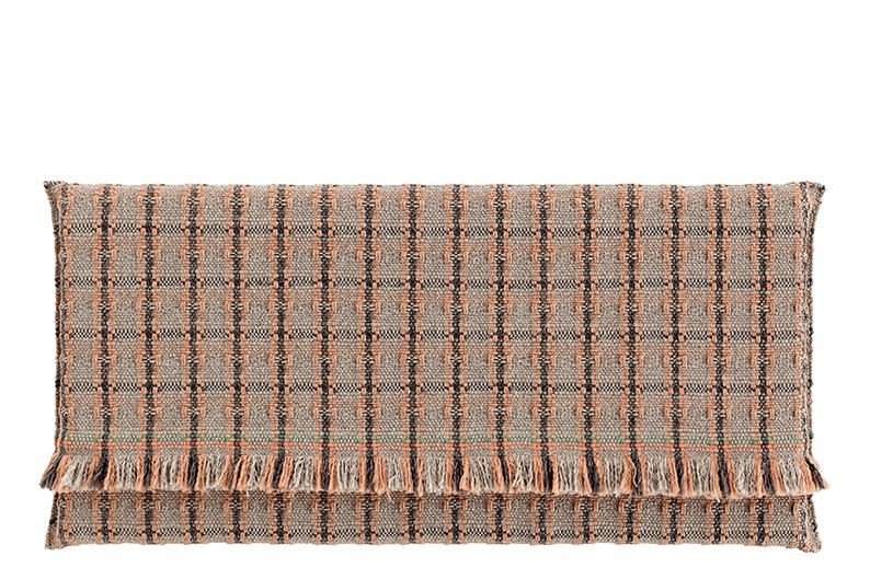 Garden Layers Rug Checks terracotta, 200x300