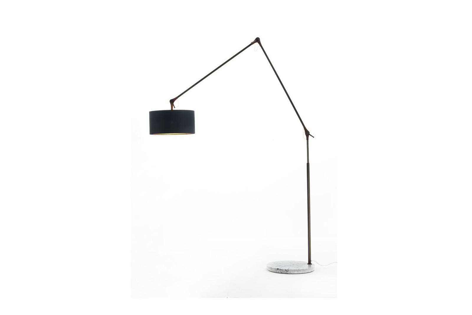 Gary Floor Lamp Canaletta Walnut, 230cm