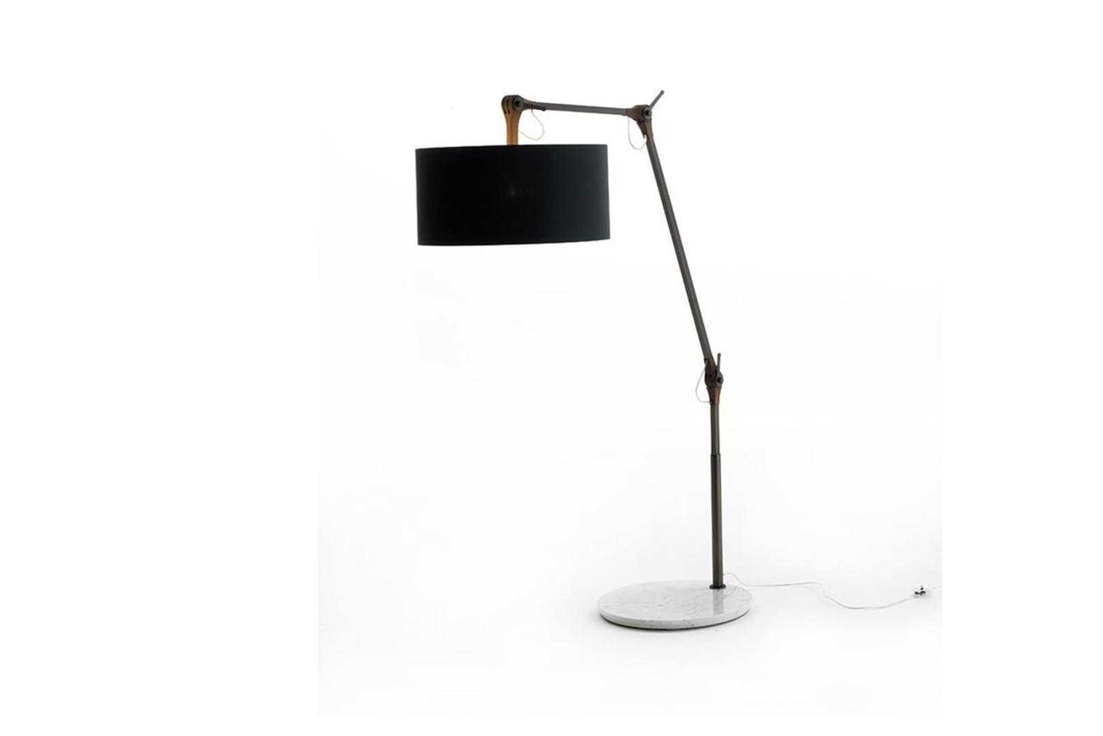 Gary Floor Lamp Canaletta Walnut, 103cm