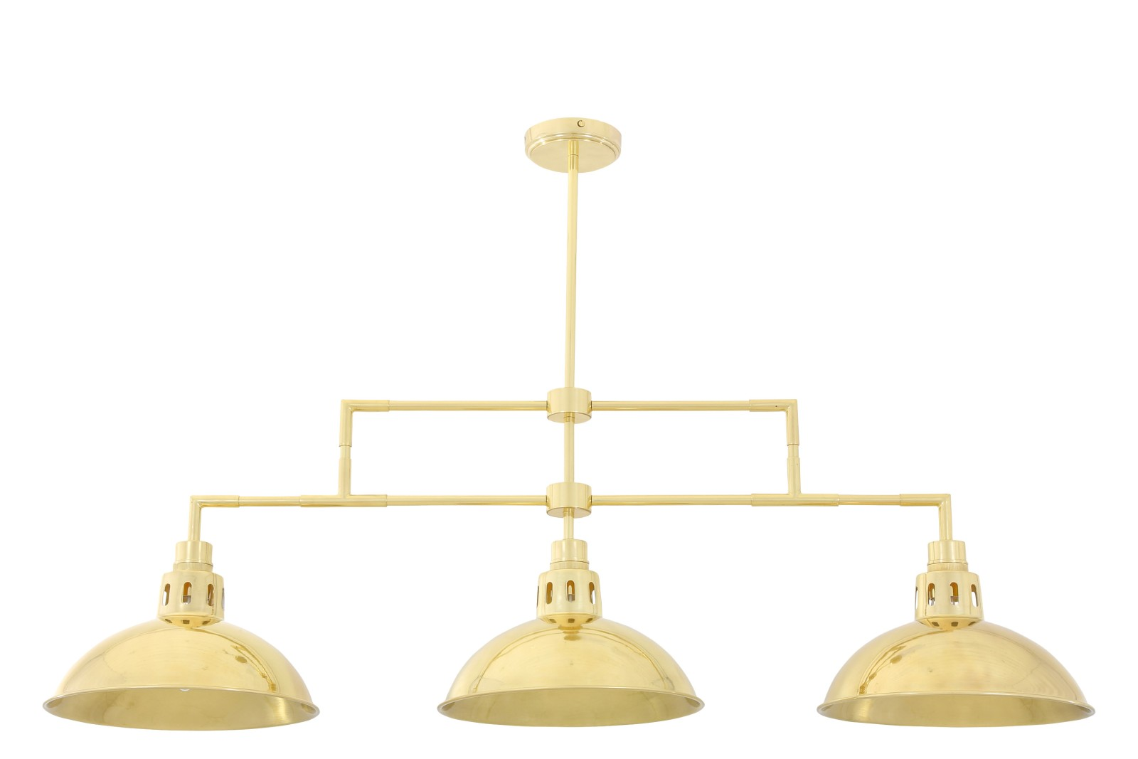 Georgia Bar Pendant Light Polished Brass