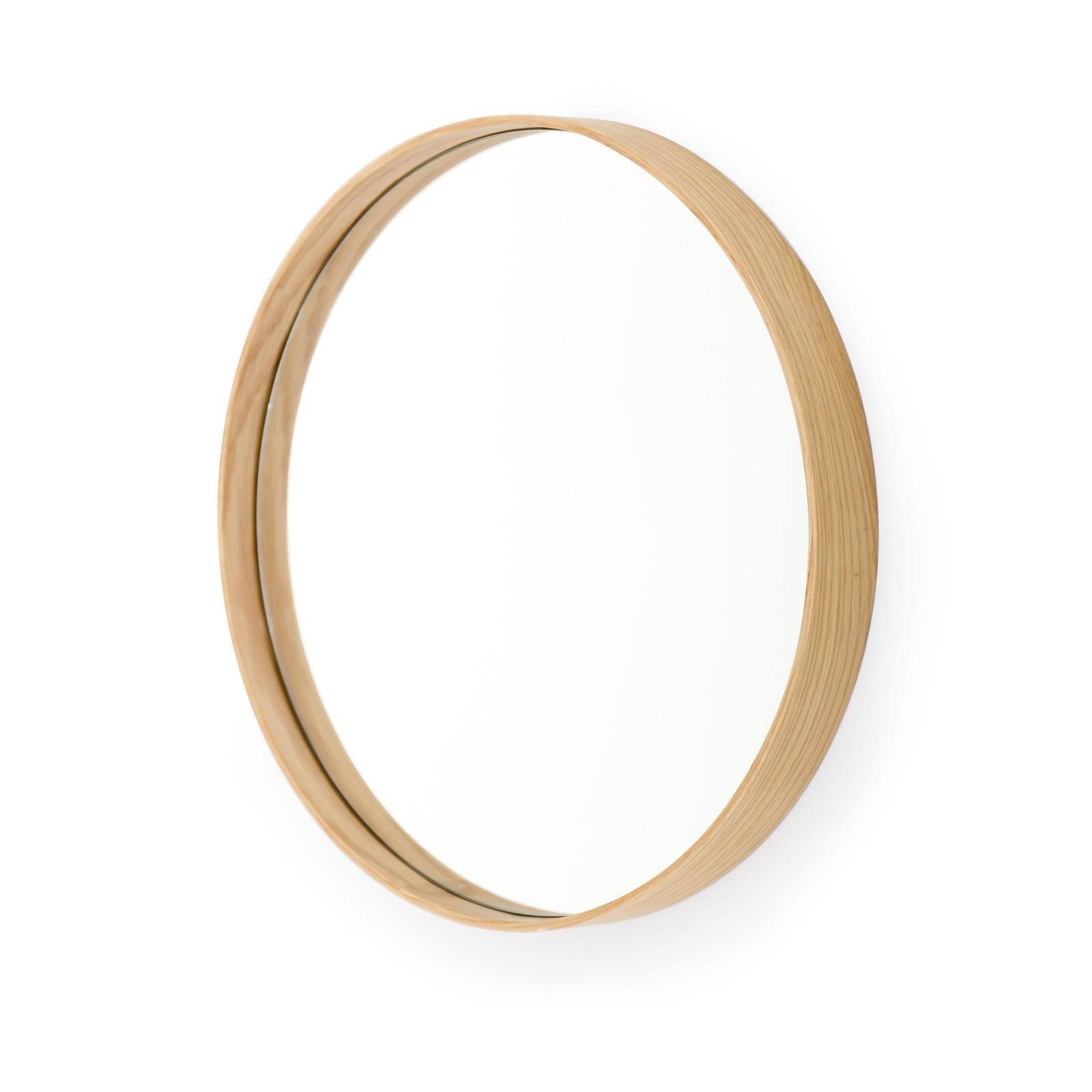 Glance Mirrors Glance Round 310 Oak
