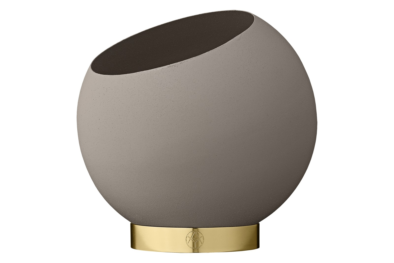 Globe Flower Pot Extra Small - Set of 4 Taupe