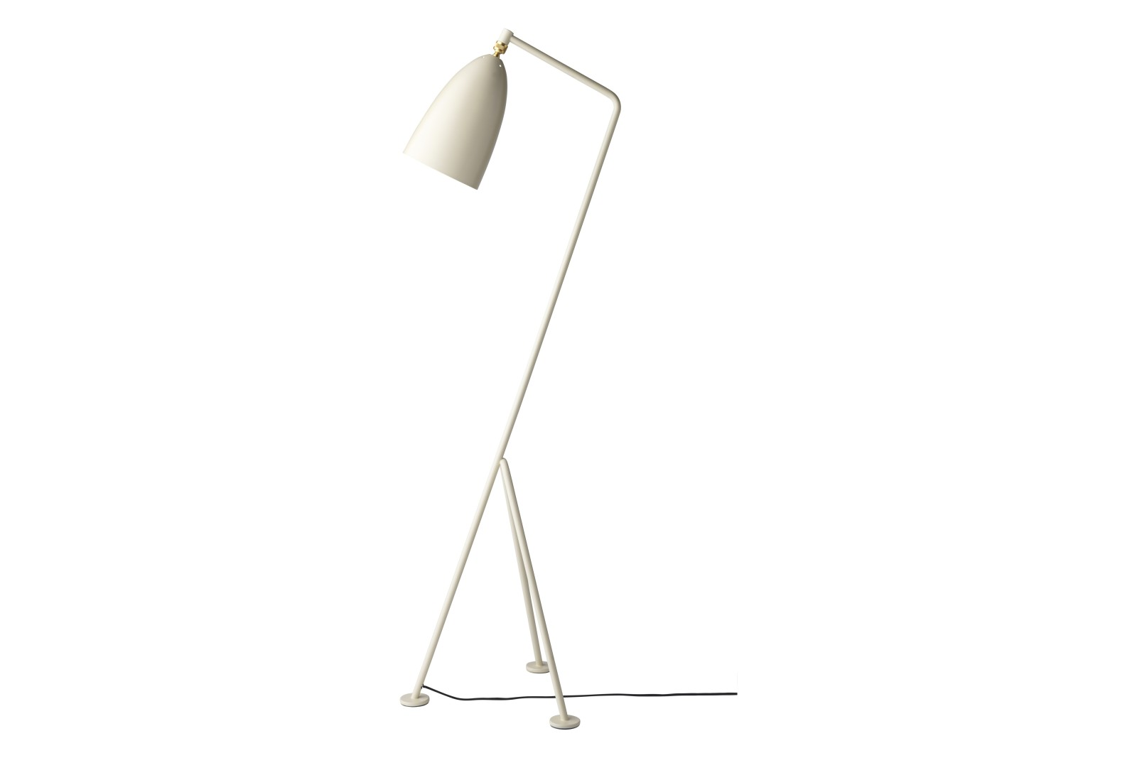 Gräshoppa Floor Lamp Oyster White