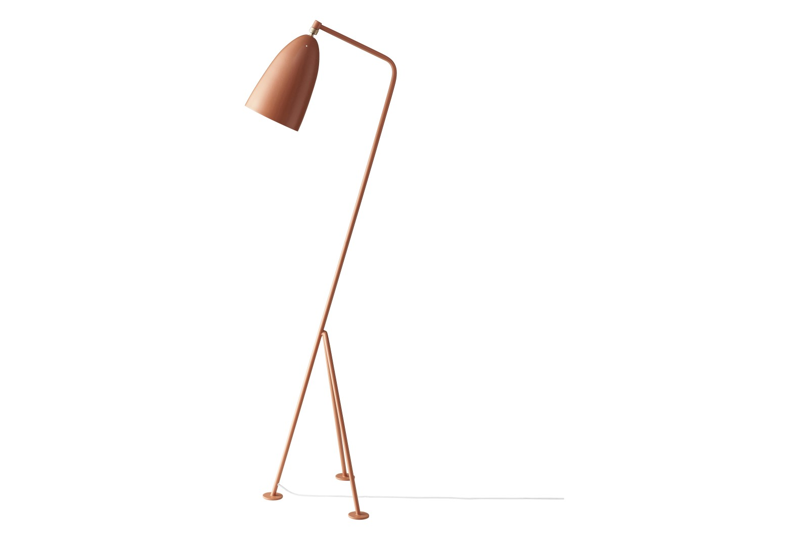 Gräshoppa Floor Lamp Vintage Red