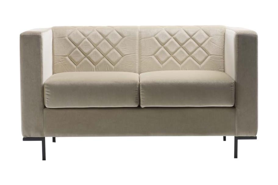 Hall Sofa 2 Seater Jet 9110