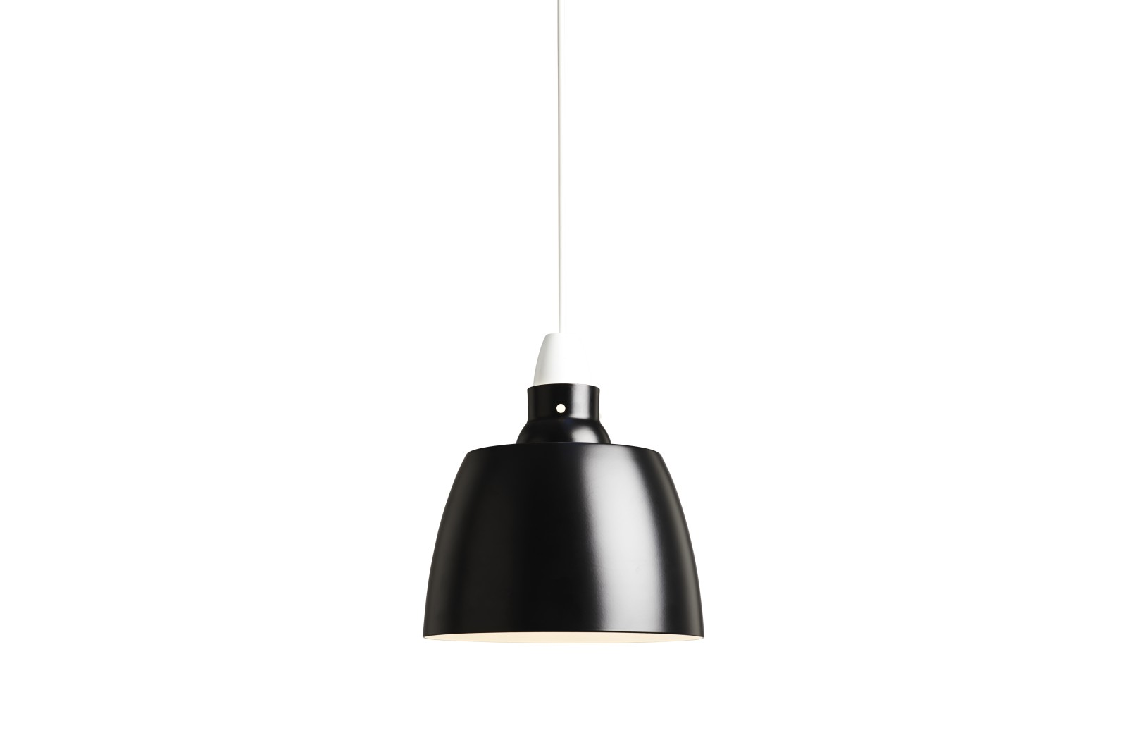 Hang On Honey Pendant Light Jet Black