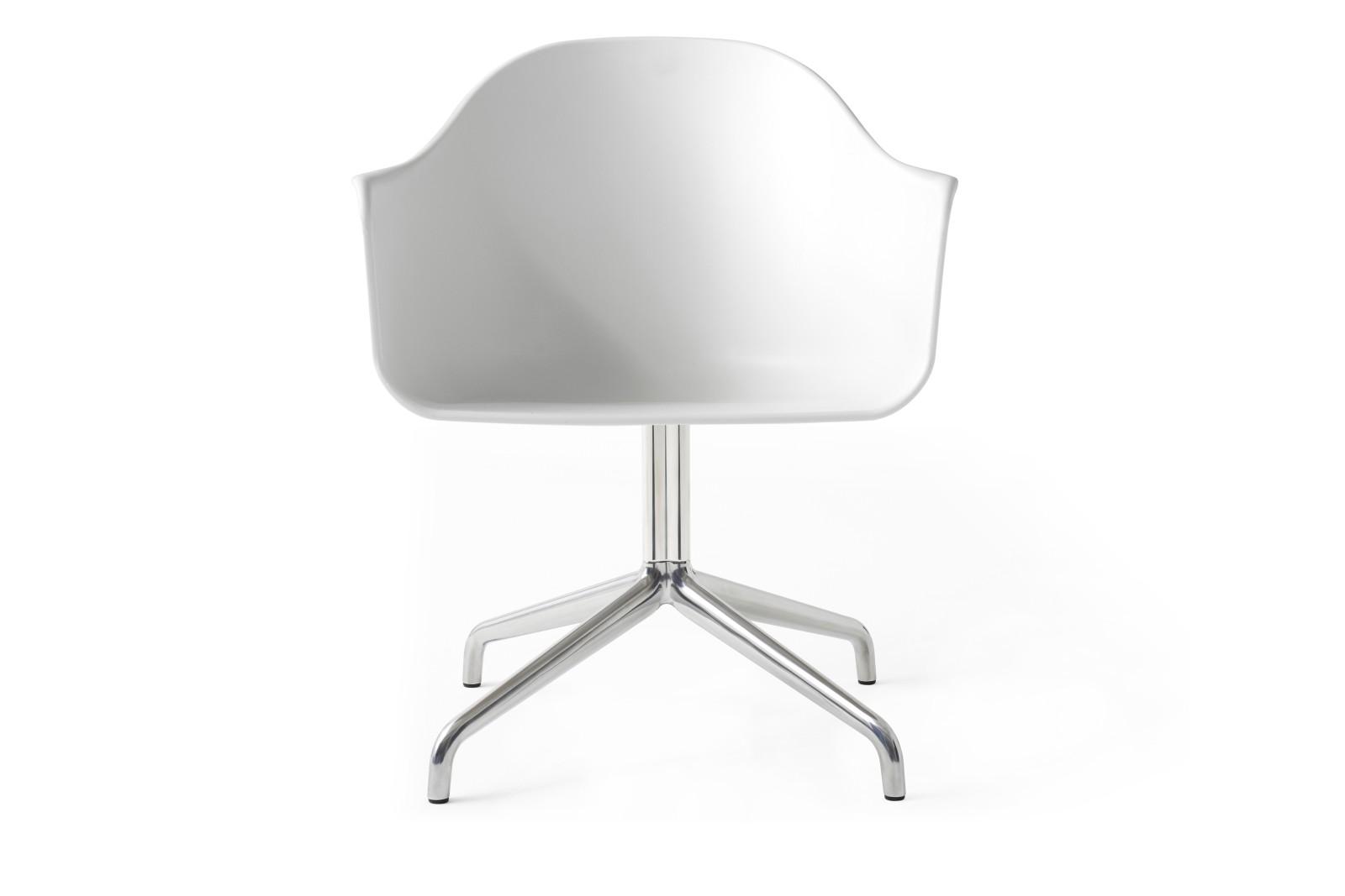 Harbour Chair - Swivel Base Alu Swivel Base/White Shell