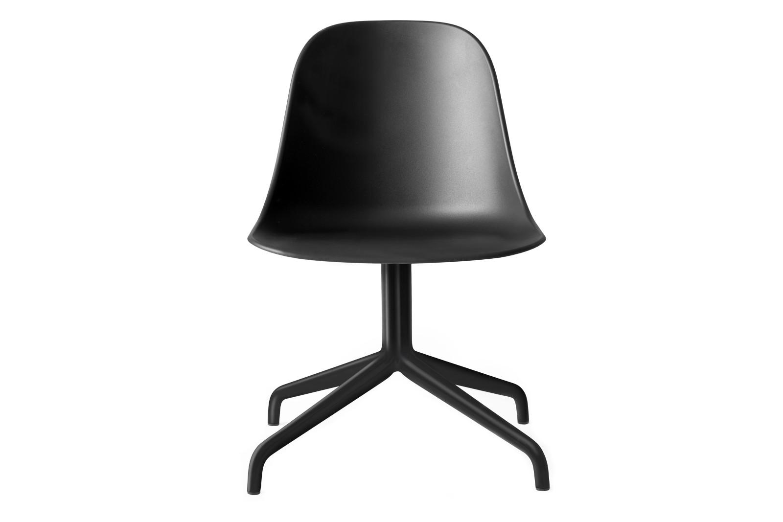 Harbour Side Chair - Swivel Base Black Swivel/Black Shell