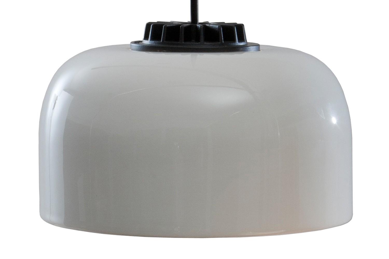 HeadHat Bowl Pendant Light Small, Black - Not Dimmable, Black ceramic, 300