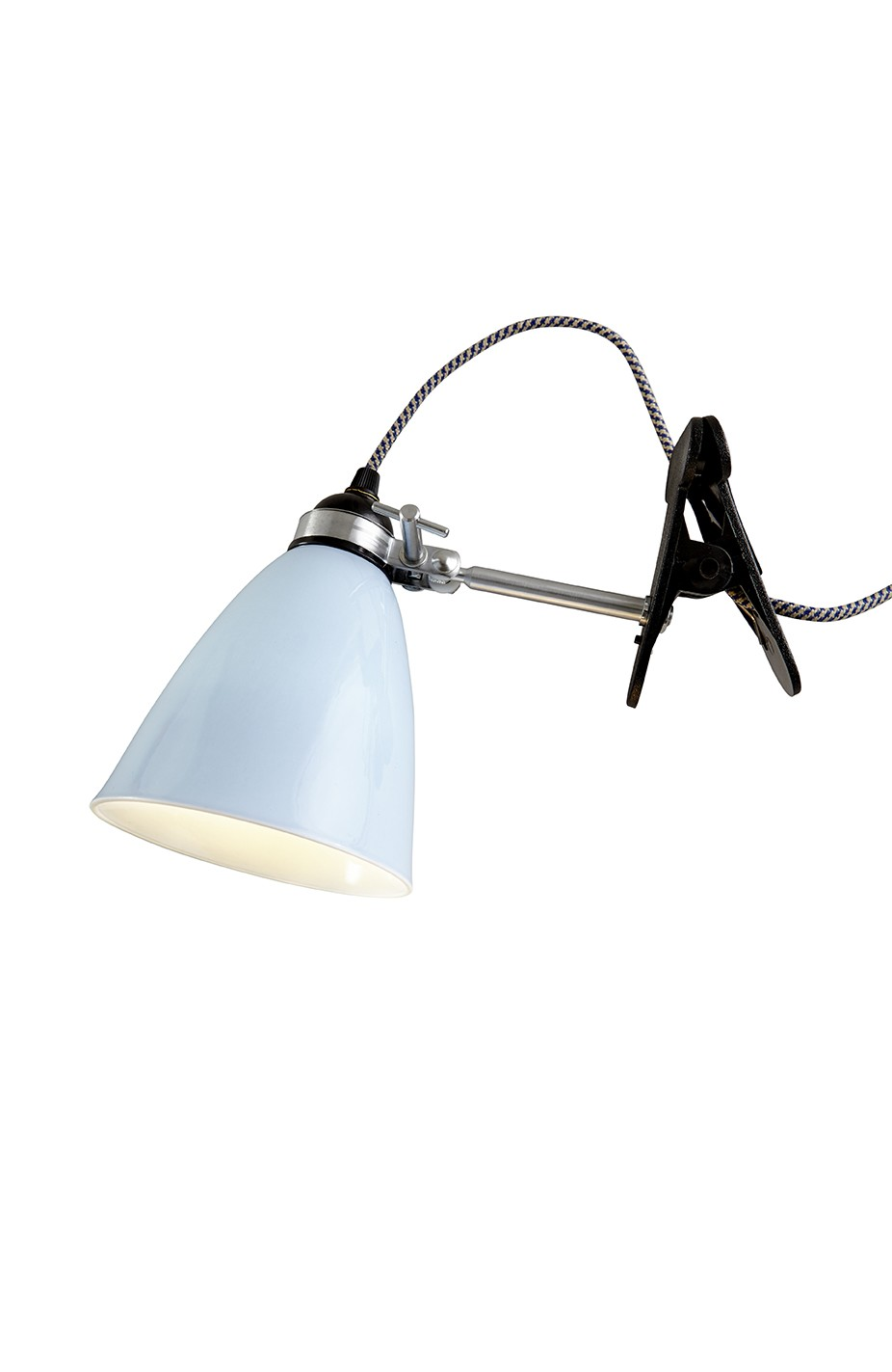 Hector Dome Clip Light Light Blue, Small