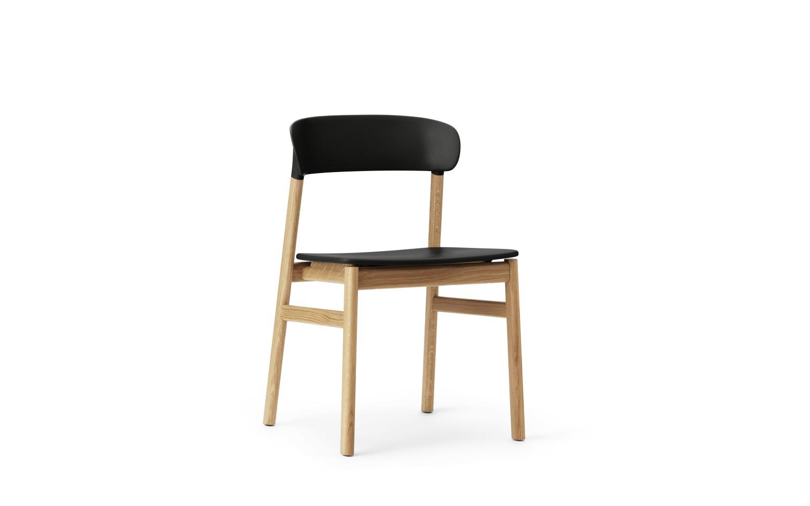 Herit Dining Chair Black, Oak