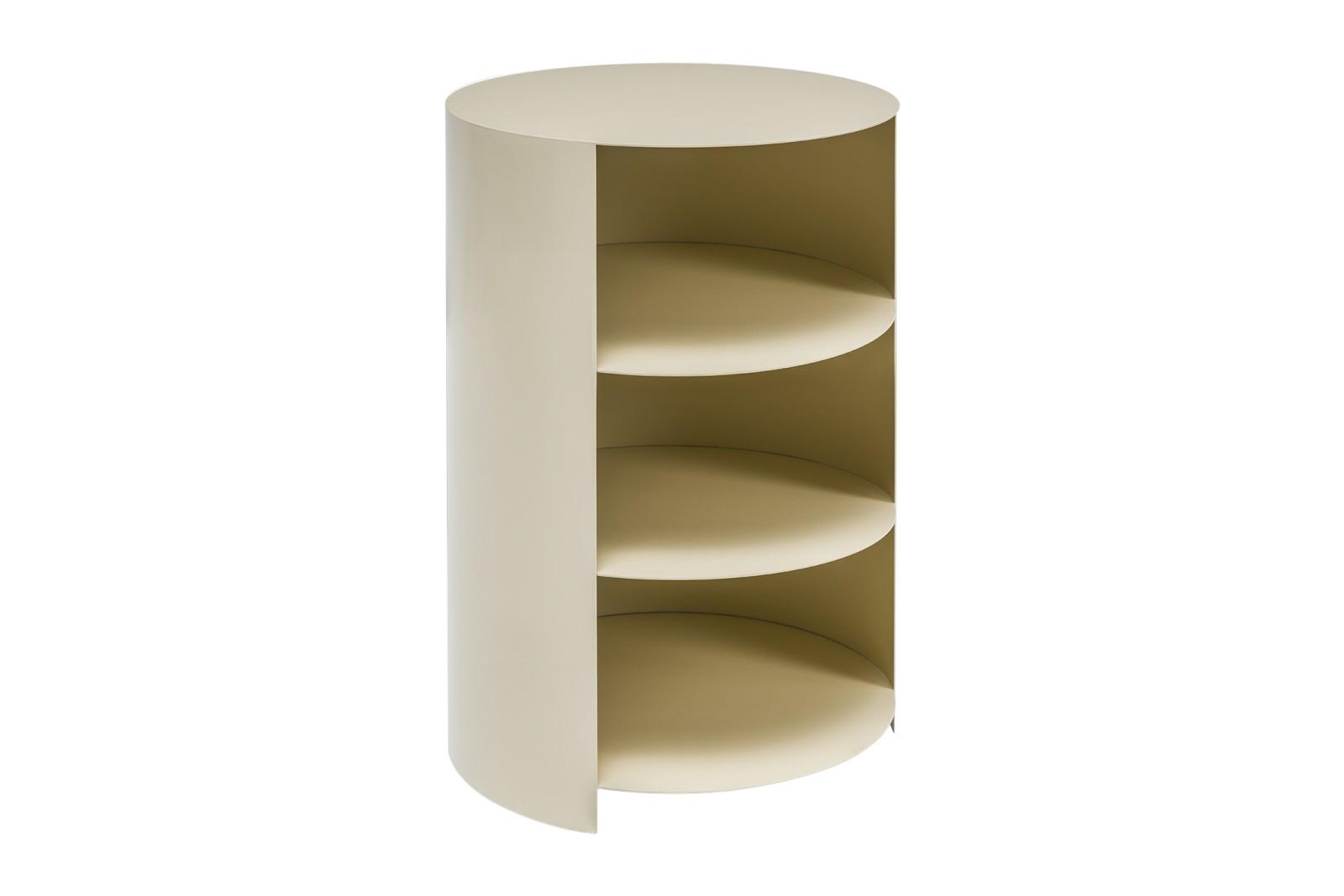 Hide Pedestal Ivory