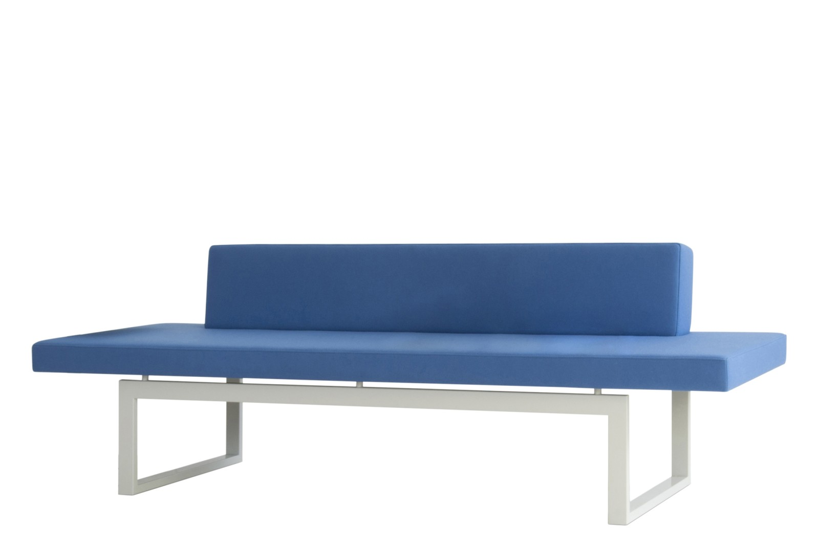 HM106H Quiet Seating Sofa Kvadrat Tonica 2 Oak Base