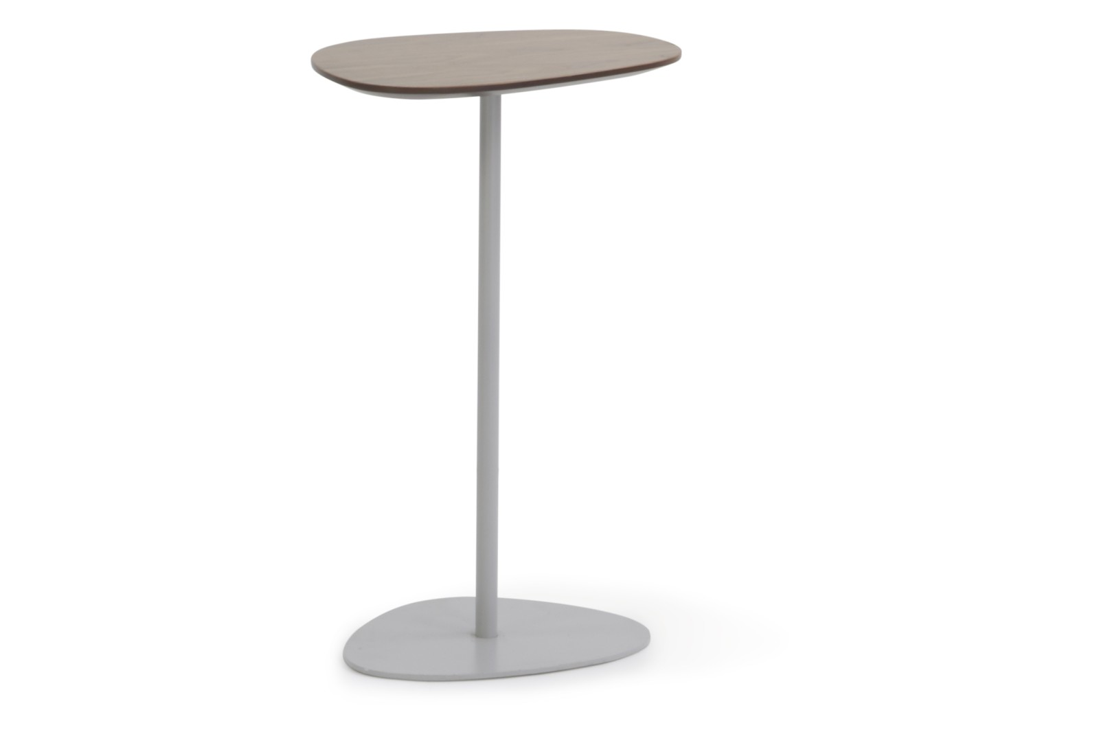 HM63J Pebble High Table Abet 421 Laminate Polished Brass