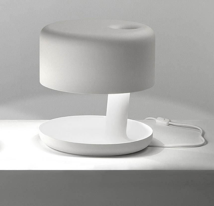 Hoodie Table Lamp Matte White
