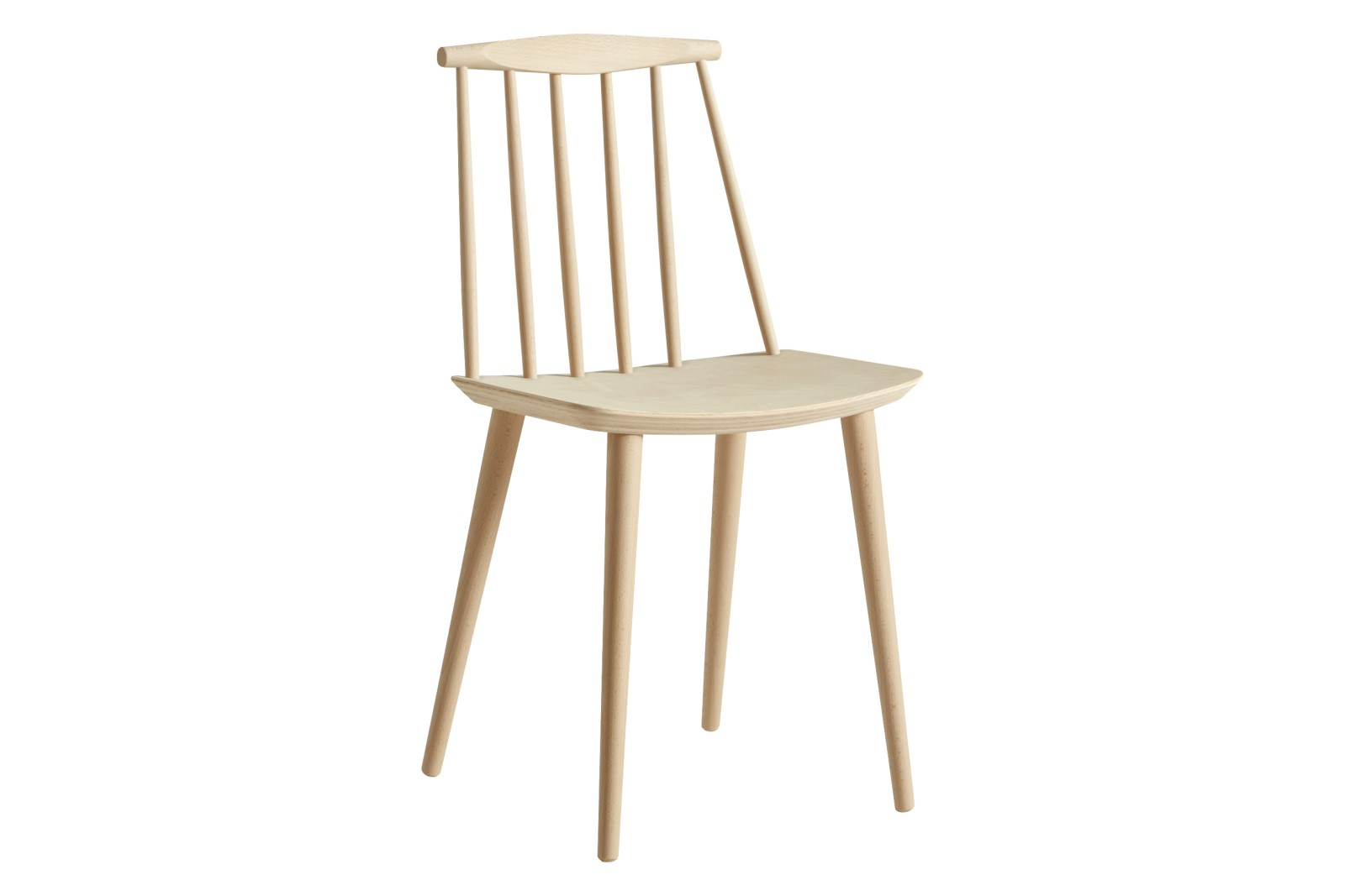 J77 Dining Chair Wood Nature Soaped Beech