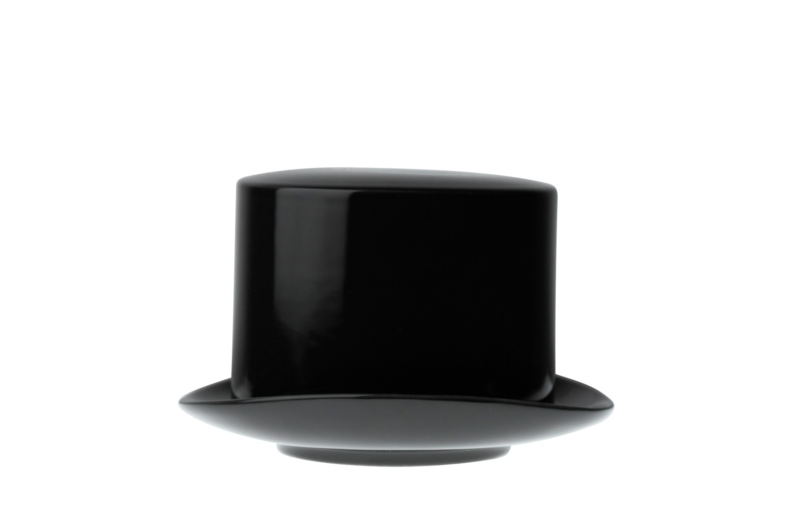 Jack Top Hat Sugar Bowl Black