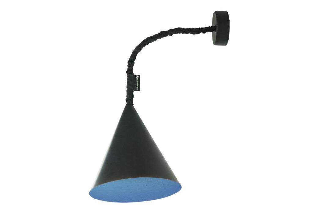 Jazz A Wall Light Black, Blue
