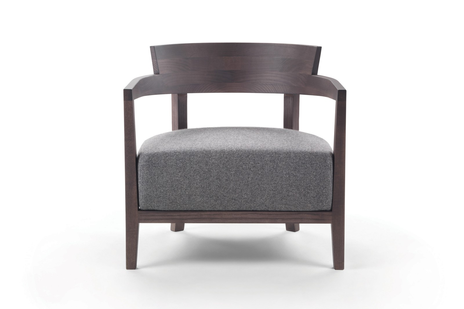 Jenny Armchair Sable 1640, Wood Finishes Ashwood Stained Brown