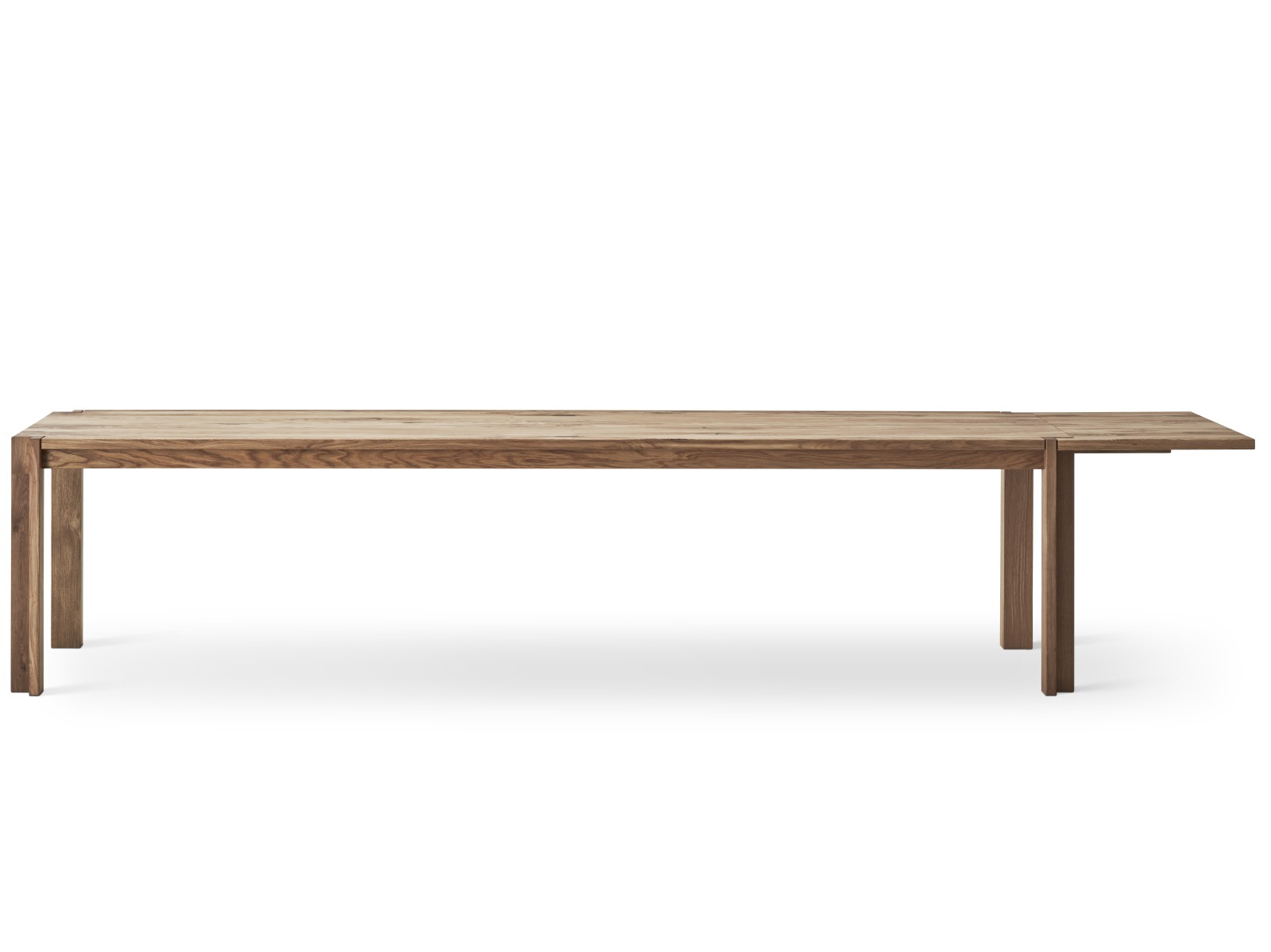 Jeppe Utzon Dining Table with Extension Wild Oak Oil Treatment, 210cm