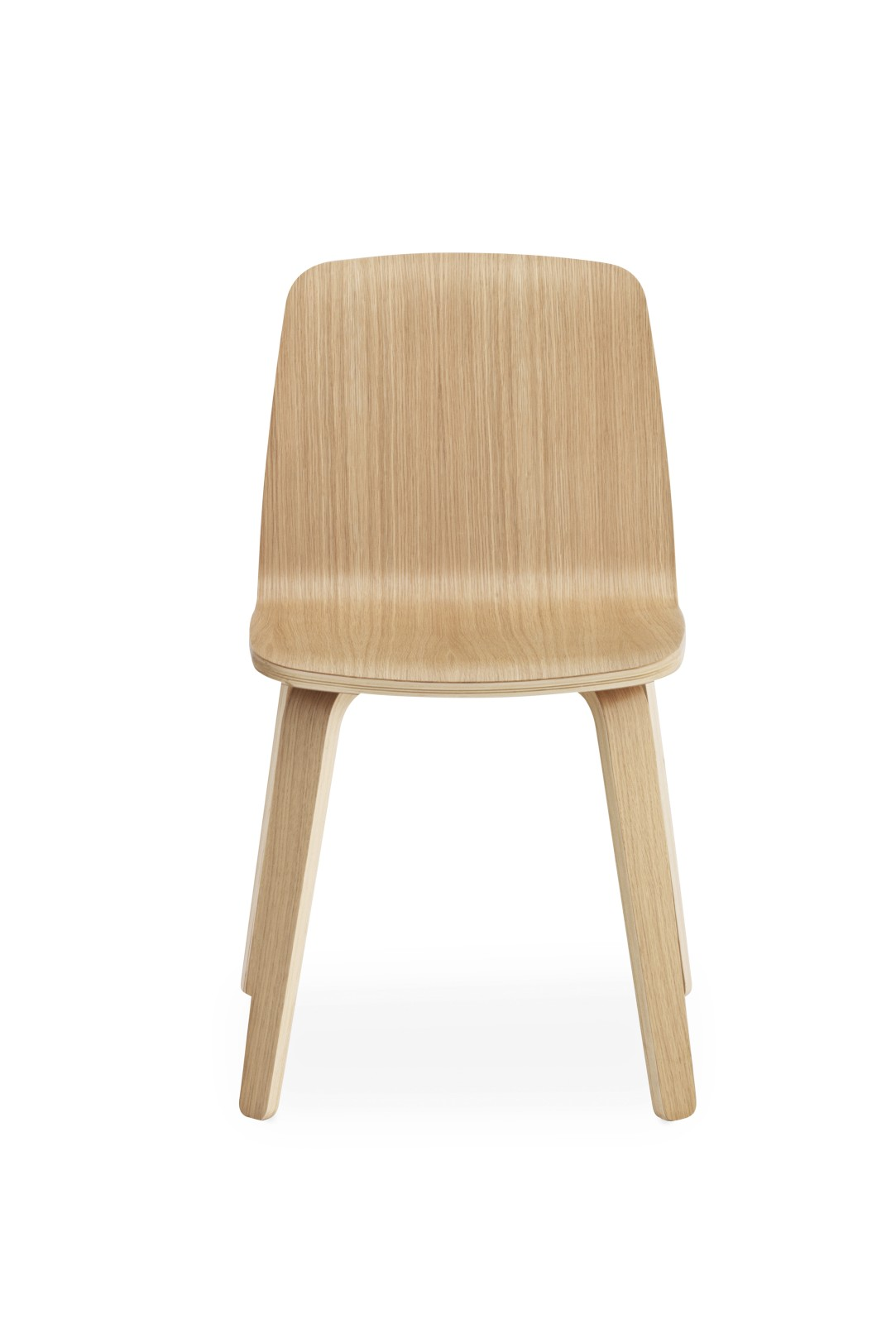 Just Chair - Wood Base Oak/Oak