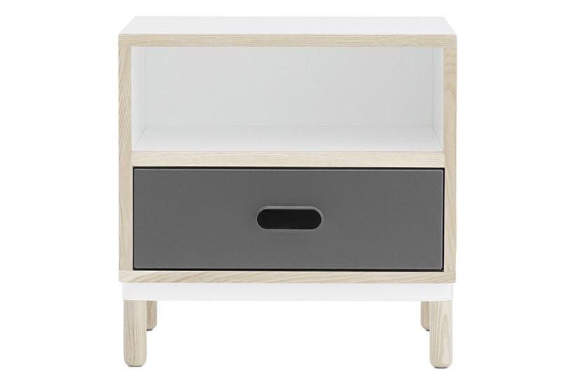 Kabino Bedside Table Grey