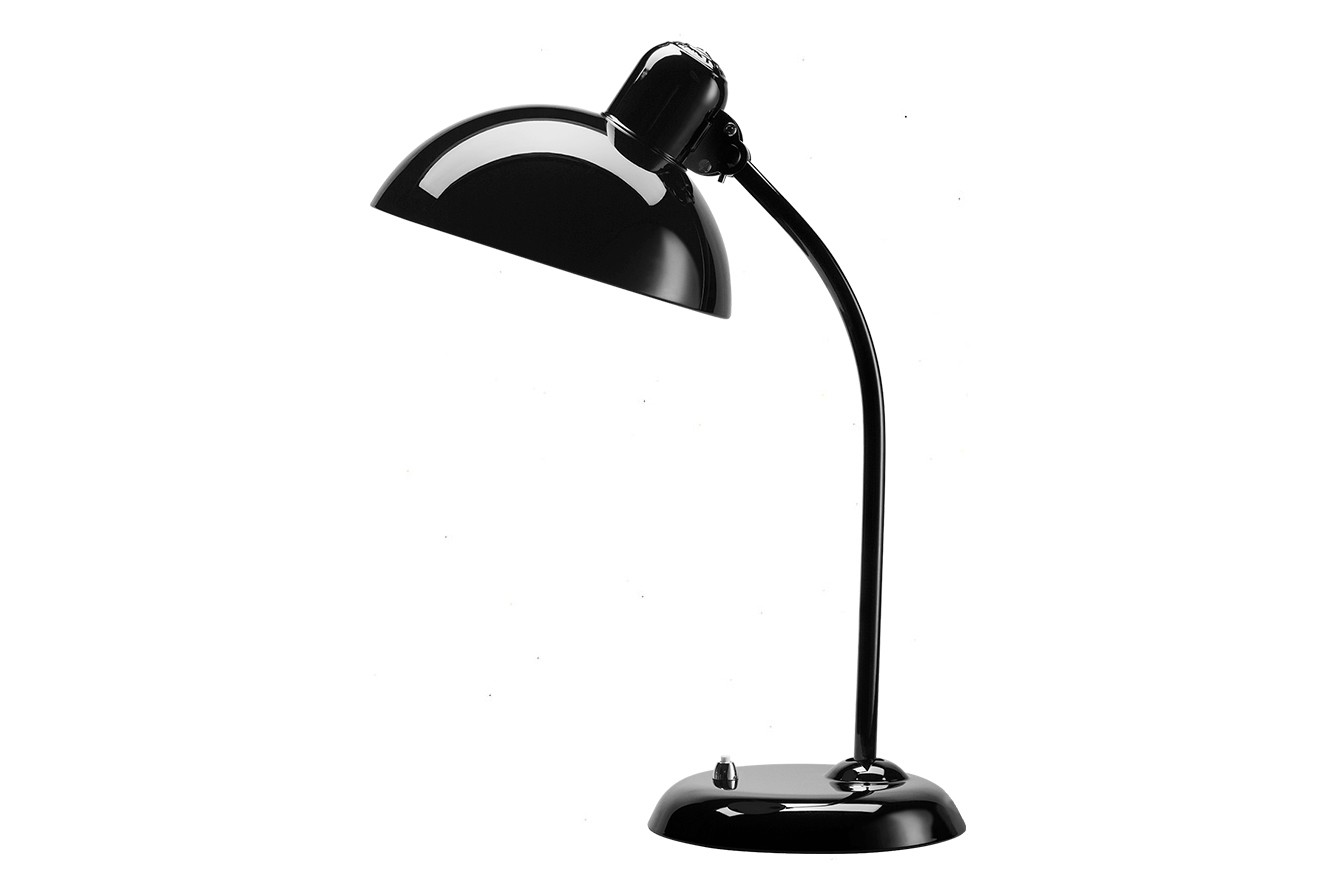 Kaiser Idell Tiltable Table Lamp Metal Black